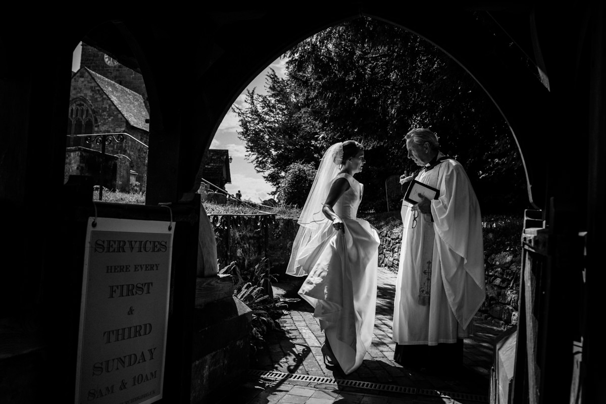 All Saints church waldron wedding east sussex 26
