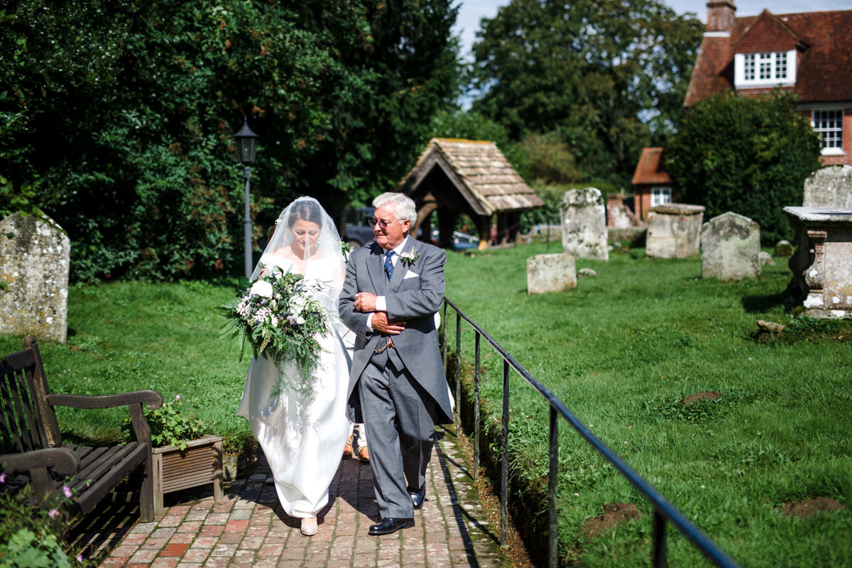 All Saints church waldron wedding east sussex 27