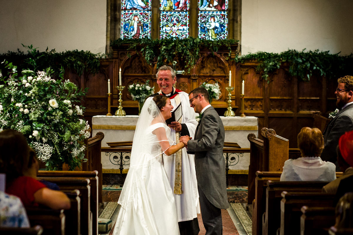 All Saints church waldron wedding east sussex 31