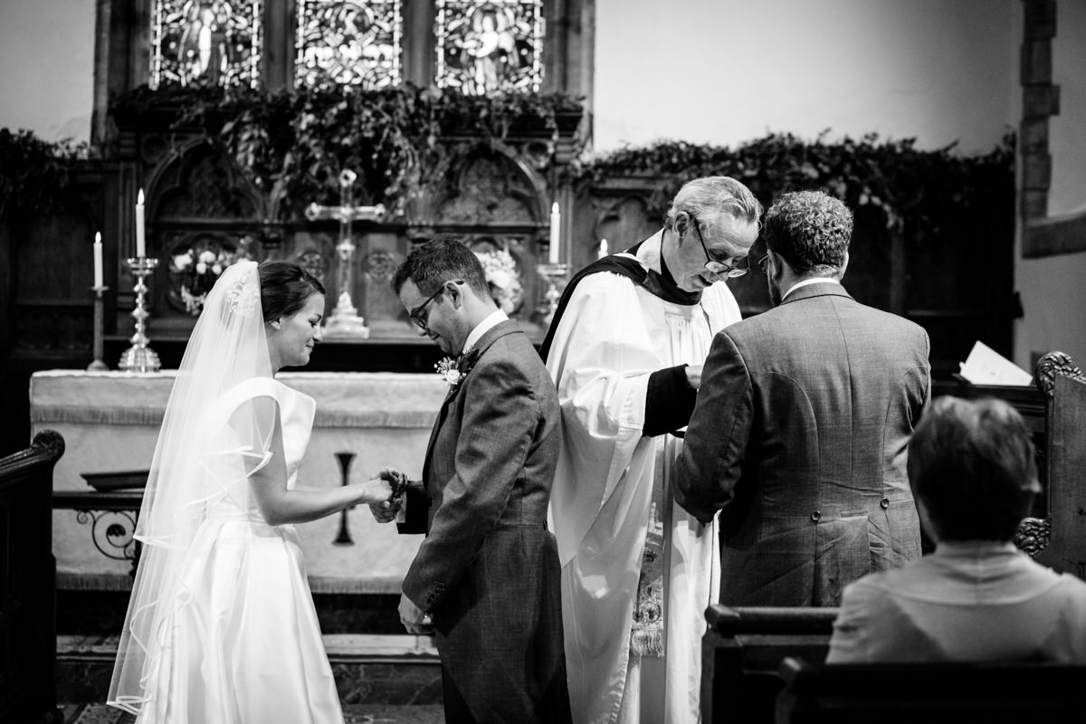 All Saints church waldron wedding east sussex 32