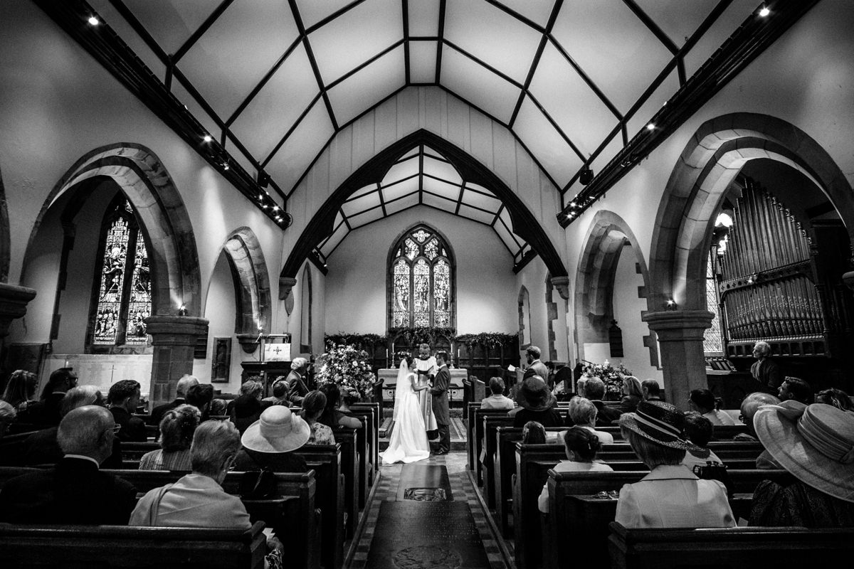 All Saints church waldron wedding east sussex 33