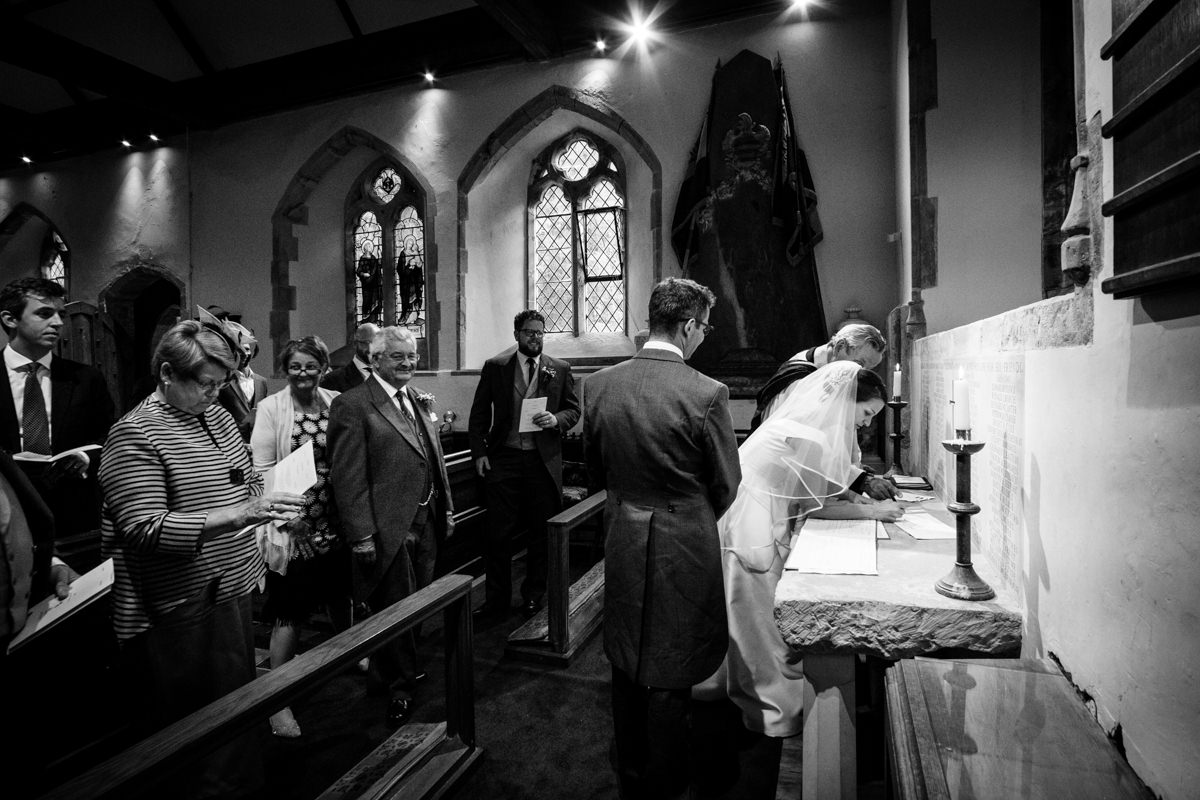 All Saints church waldron wedding east sussex 34