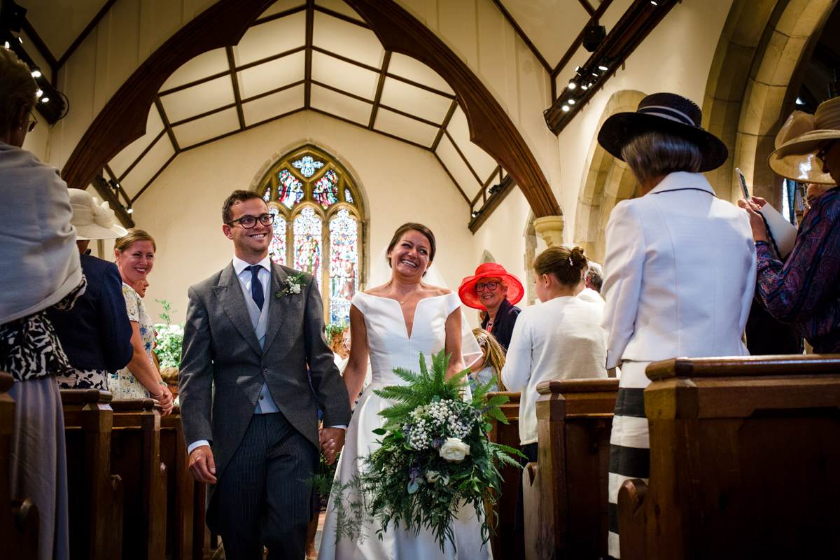All Saints church waldron wedding east sussex 35