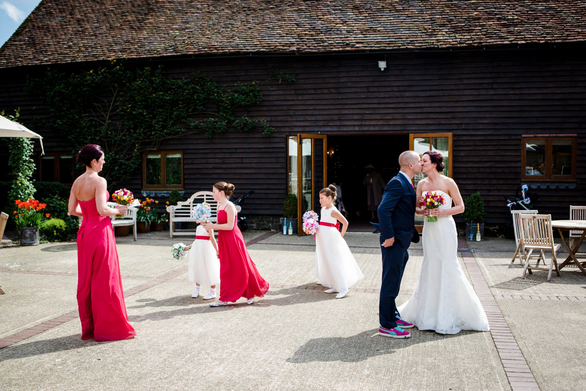 Fitzleroi Barn wedding Sussex CP Michael Stanton Photography 19
