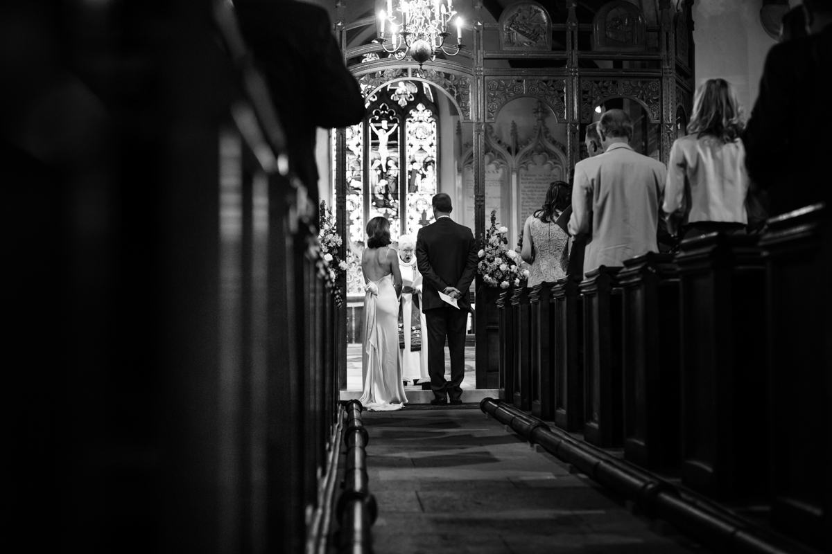 Holy Trinity Crockham Hill wedding Kent SR Michael Stanton Photography 9