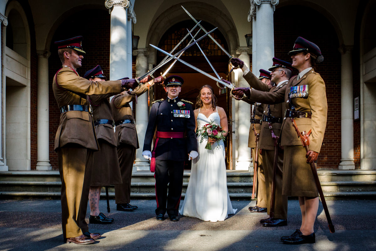 RMA Sandhurst wedding Surrey RG Michael Stanton Photography 25