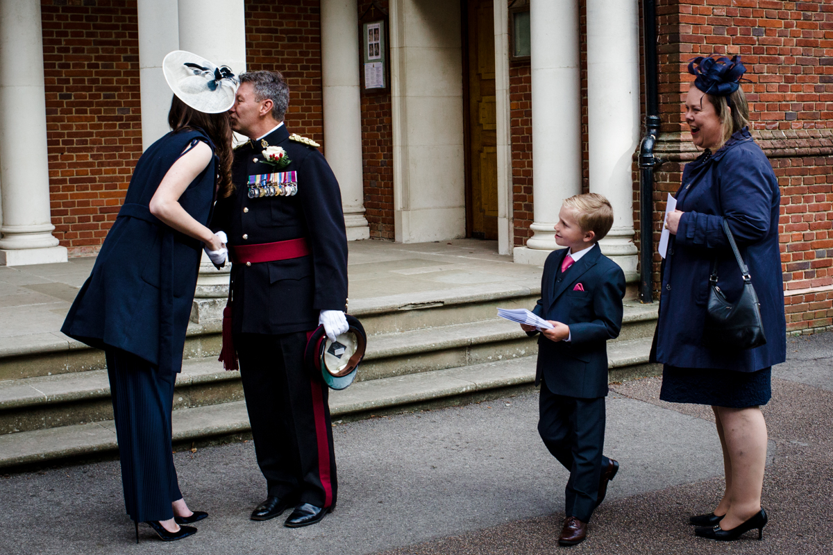 RMA Sandhurst wedding Surrey RG Michael Stanton Photography 7