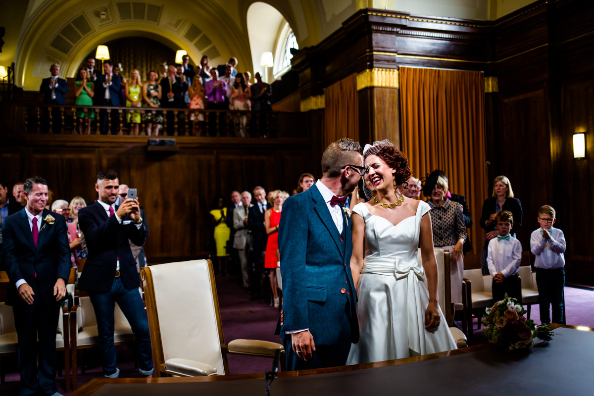Stoke Newington Town Hall wedding Londesborough Pub EG Michael Stanton Photography 11