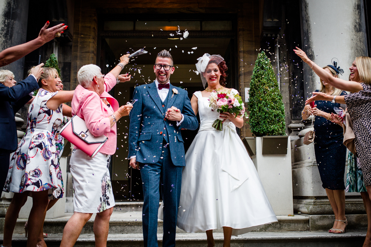 Stoke Newington Town Hall wedding Londesborough Pub EG Michael Stanton Photography 14