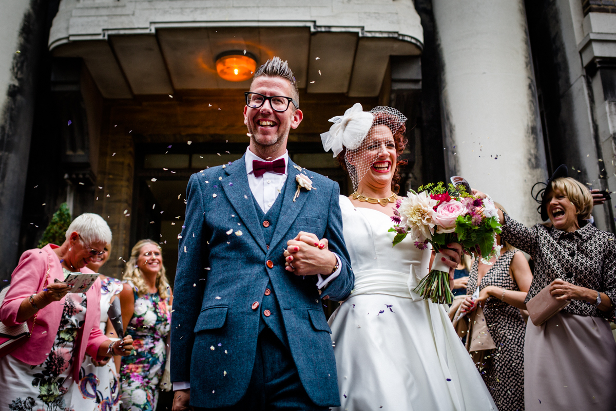 Stoke Newington Town Hall wedding Londesborough Pub EG Michael Stanton Photography 15