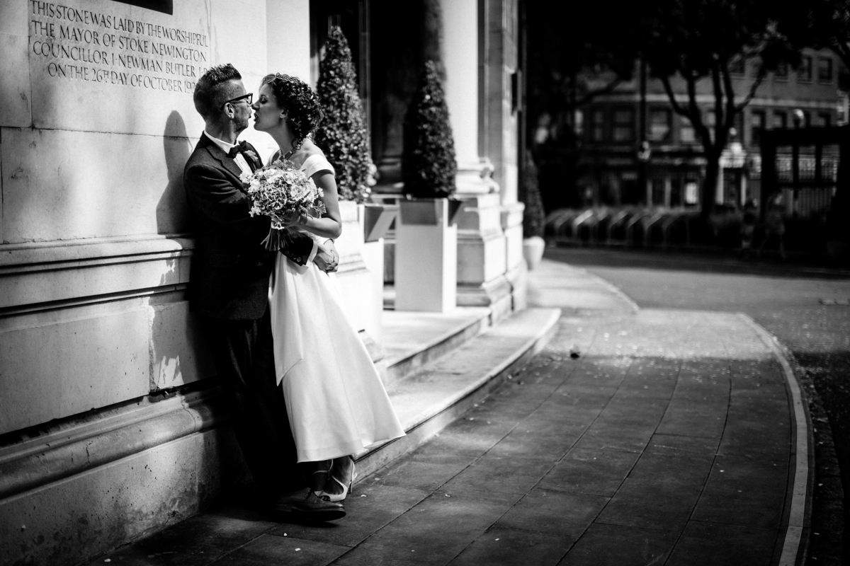 Stoke Newington Town Hall wedding Londesborough Pub EG Michael Stanton Photography 16