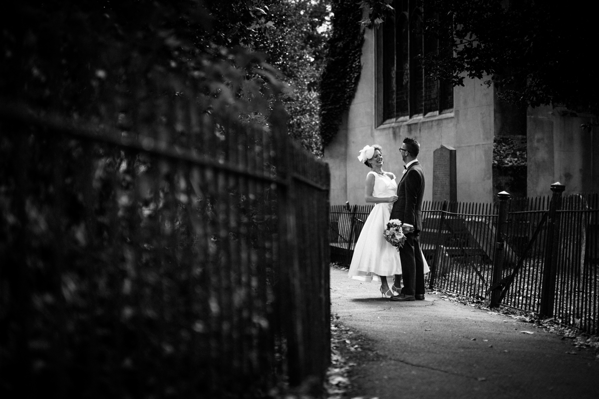 Stoke Newington Town Hall wedding Londesborough Pub EG Michael Stanton Photography 17