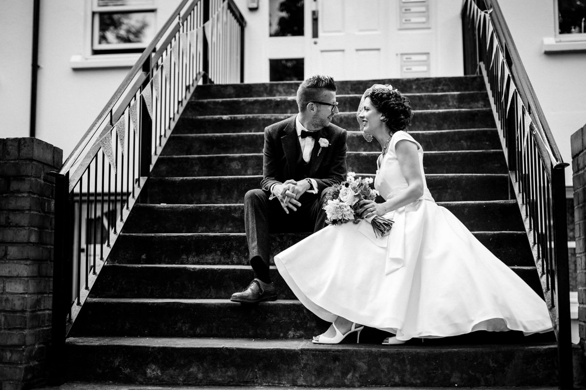 Stoke Newington Town Hall wedding Londesborough Pub EG Michael Stanton Photography 20