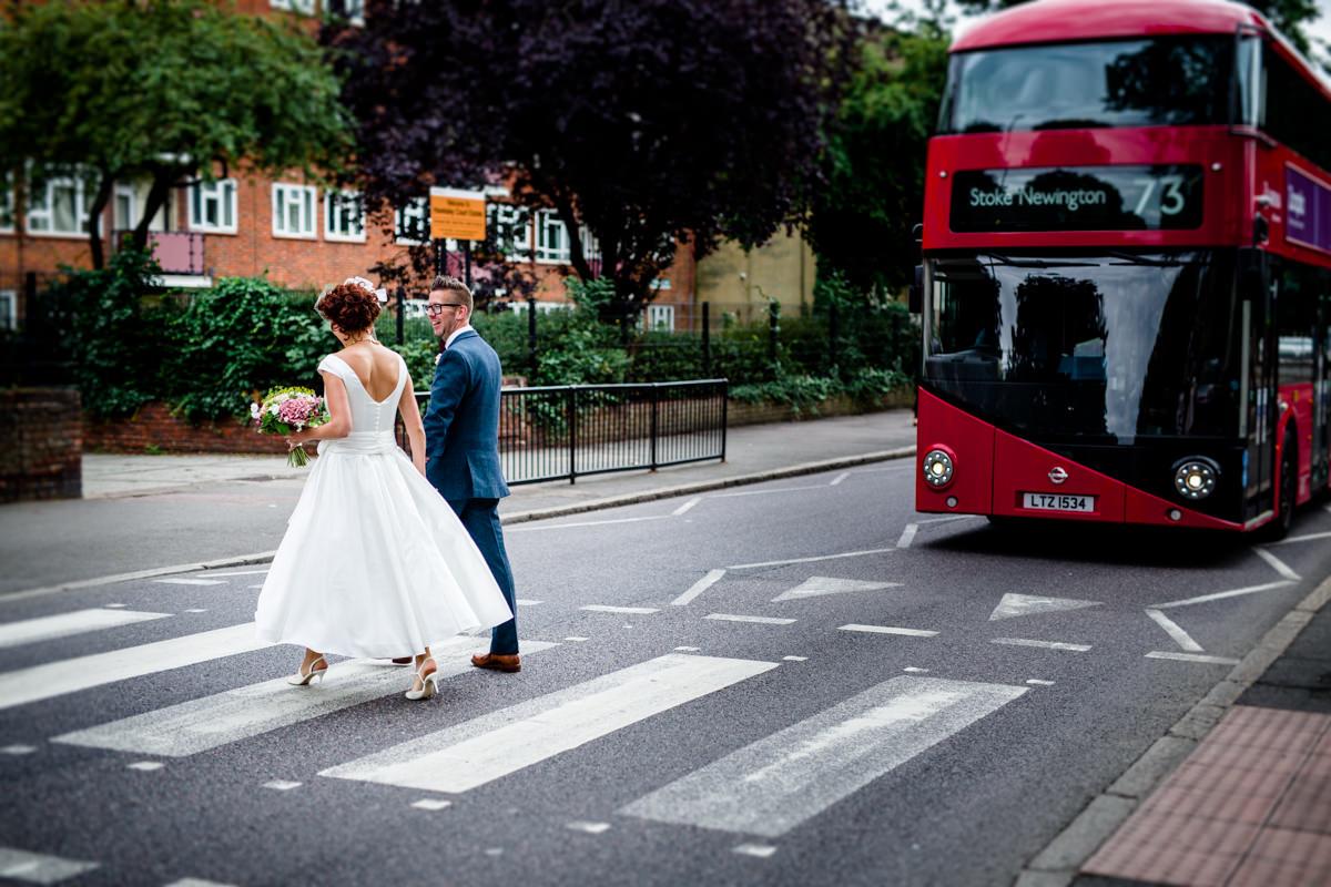 Stoke Newington Town Hall wedding Londesborough Pub EG Michael Stanton Photography 21
