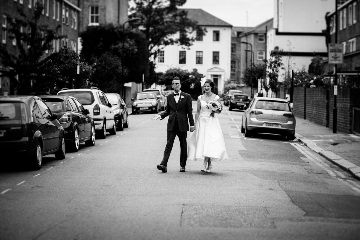 Stoke Newington Town Hall wedding Londesborough Pub EG Michael Stanton Photography 22