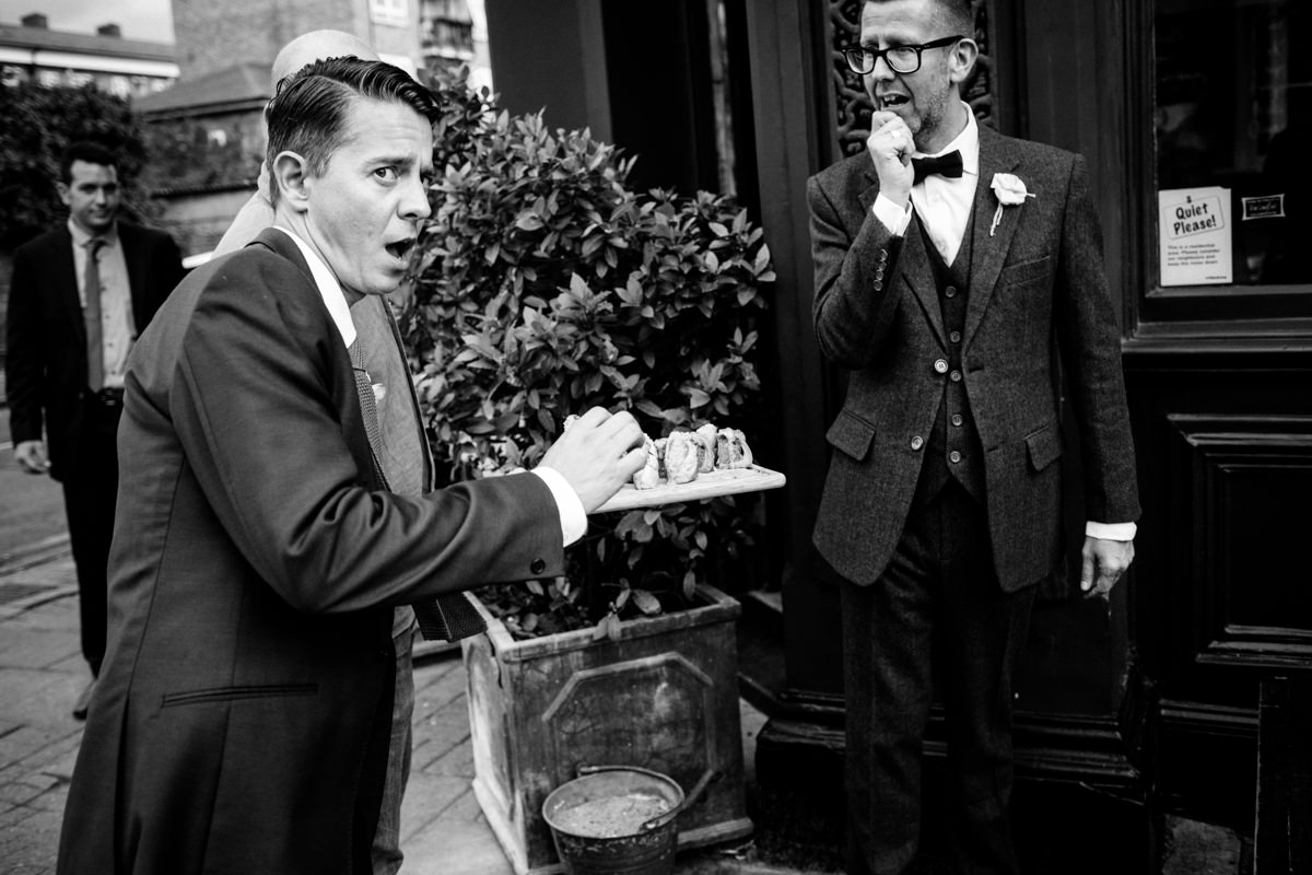 Stoke Newington Town Hall wedding Londesborough Pub EG Michael Stanton Photography 23