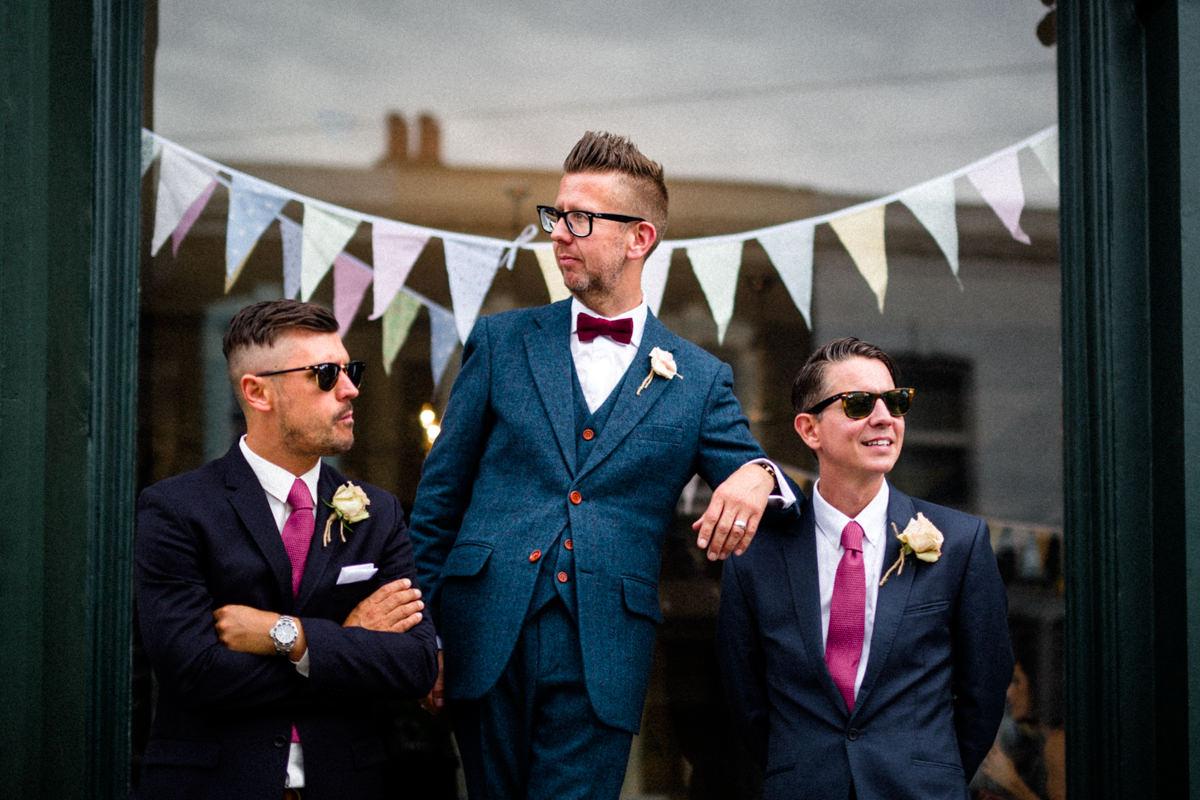 Stoke Newington Town Hall wedding Londesborough Pub EG Michael Stanton Photography 25