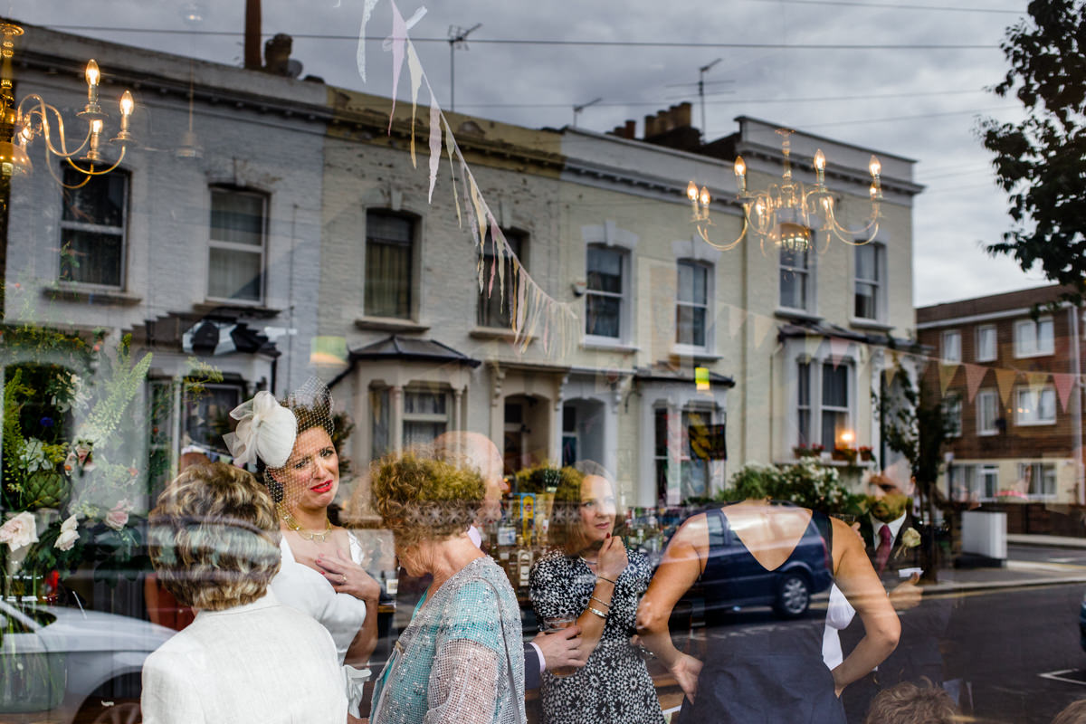 Stoke Newington Town Hall wedding Londesborough Pub EG Michael Stanton Photography 26