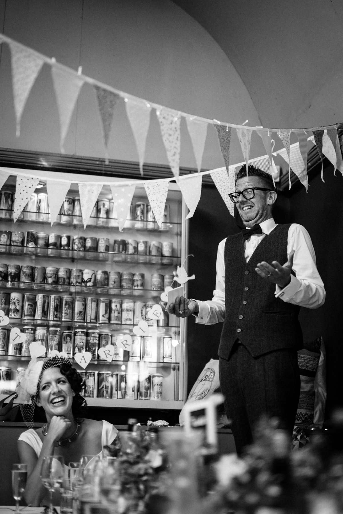 Stoke Newington Town Hall wedding Londesborough Pub EG Michael Stanton Photography 31