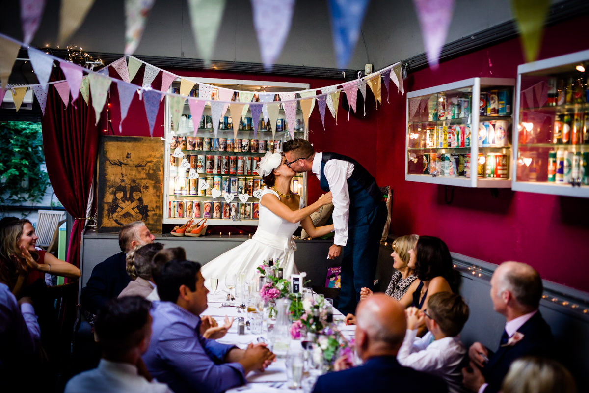 Stoke Newington Town Hall wedding Londesborough Pub EG Michael Stanton Photography 33