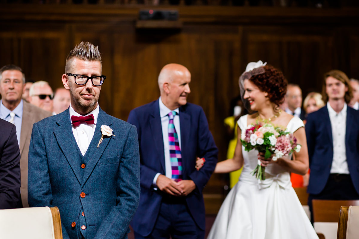 Stoke Newington Town Hall wedding Londesborough Pub EG Michael Stanton Photography 9
