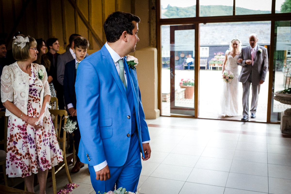 Upwalthan Barns wedding West Sussex TW Michael Stanton Photography 10