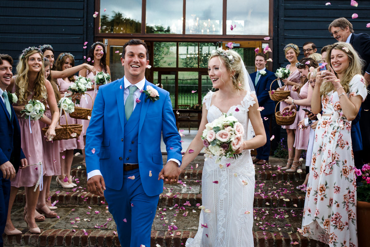 Upwalthan Barns wedding West Sussex TW Michael Stanton Photography 12