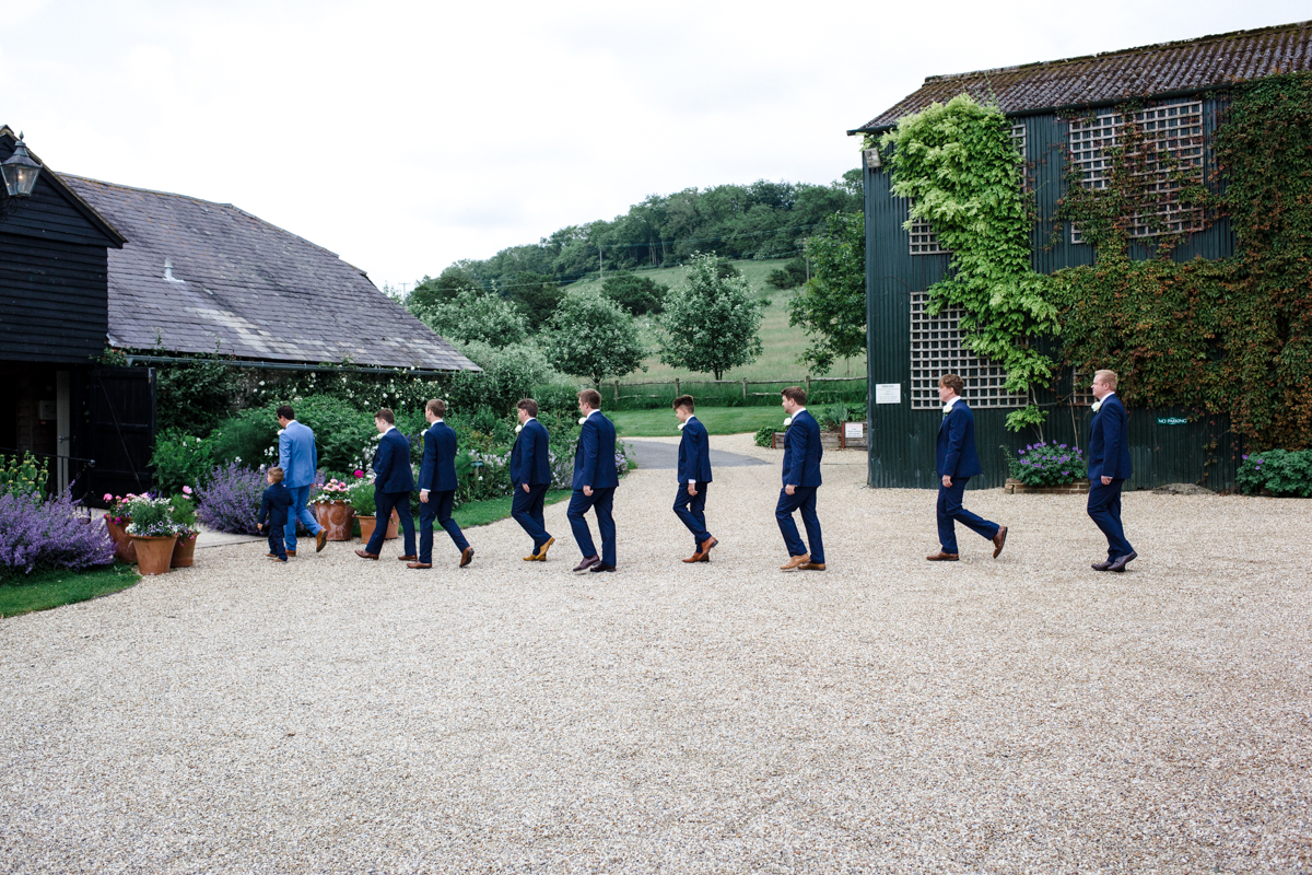 Upwalthan Barns wedding West Sussex TW Michael Stanton Photography 4