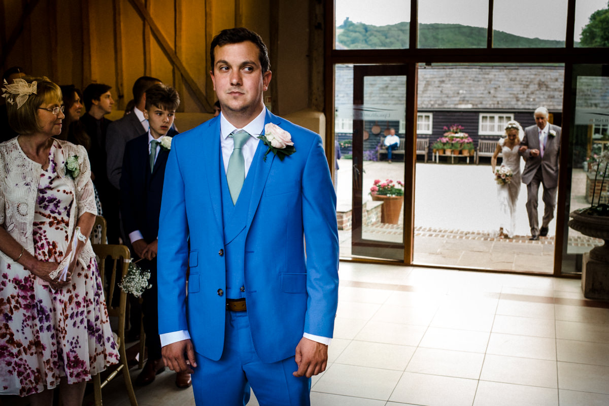 Upwalthan Barns wedding West Sussex TW Michael Stanton Photography 9