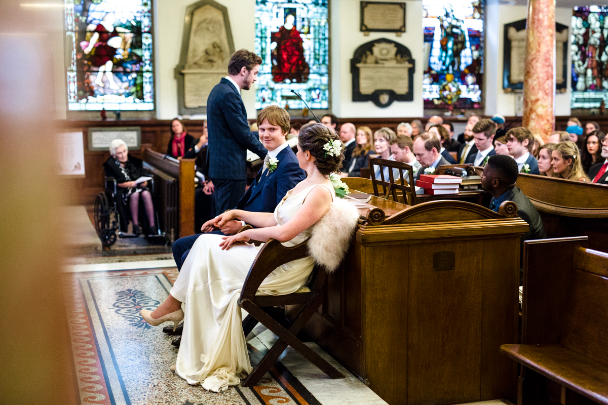Wesleys chapel London wedding Brunswick House LE Michael Stanton Photography 11