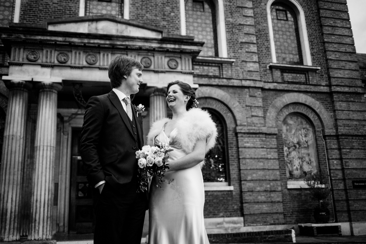 Wesleys chapel London wedding Brunswick House LE Michael Stanton Photography 28