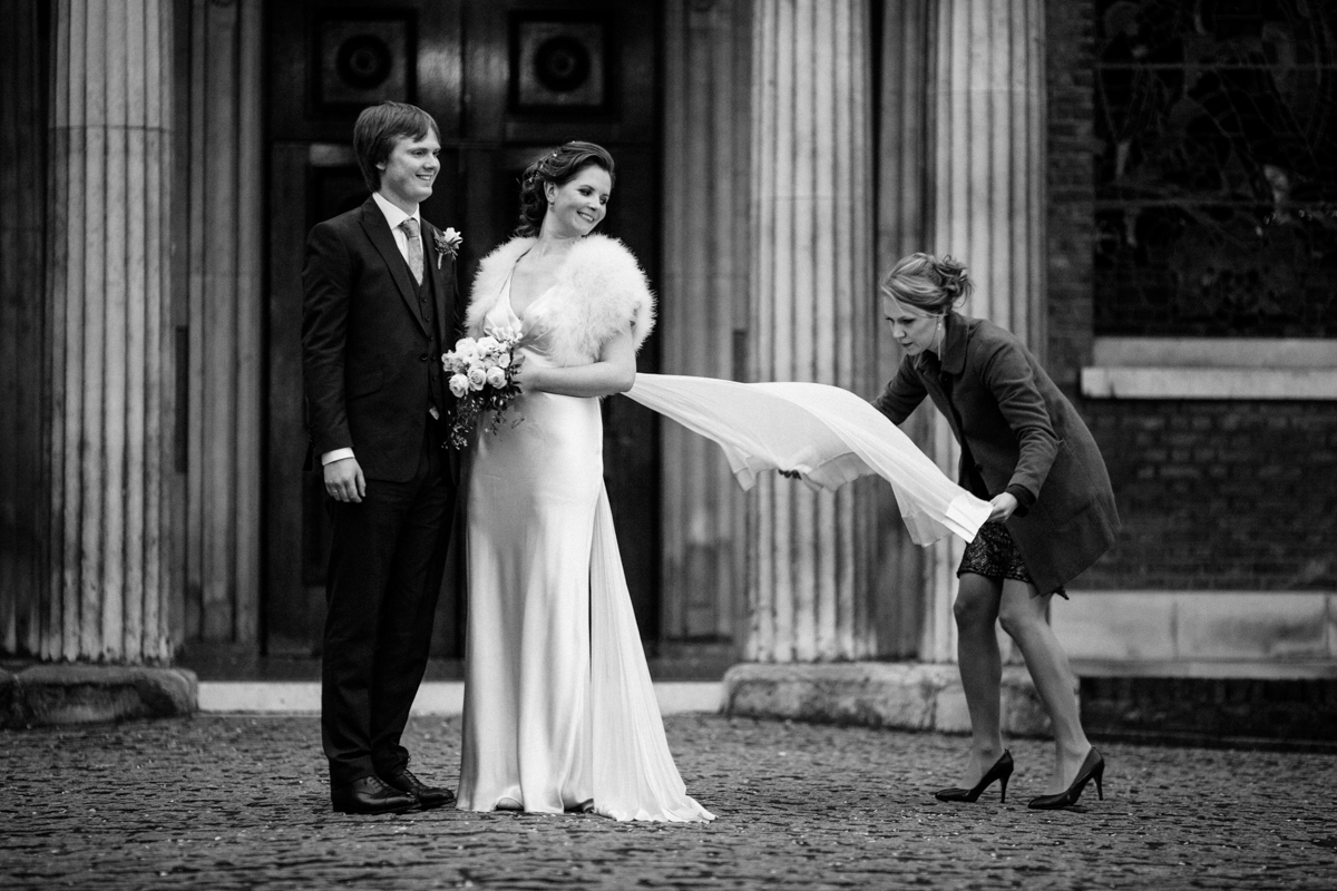 Wesleys chapel London wedding Brunswick House LE Michael Stanton Photography 29