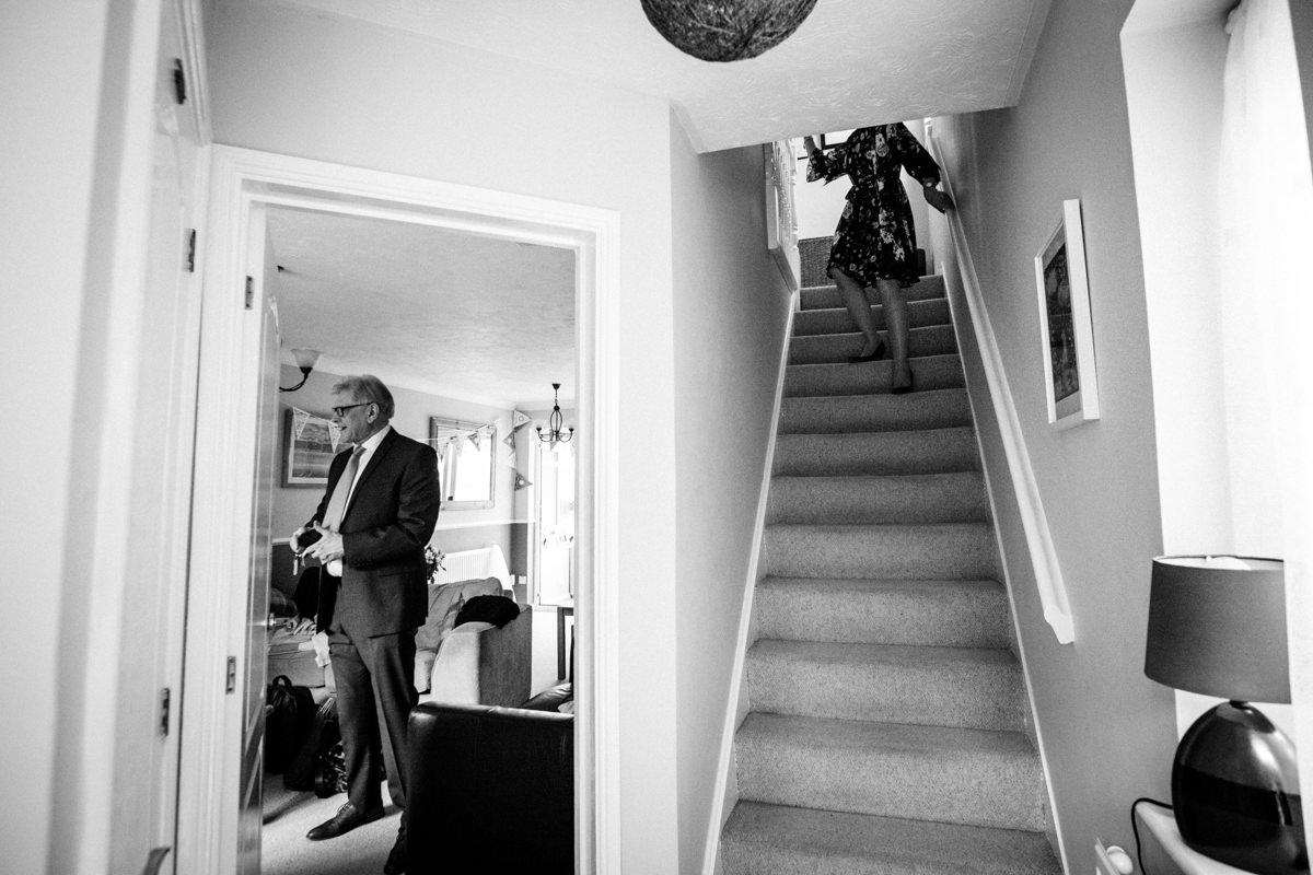 0009 Herfordshire wedding photographer Bengeo st Leonard wedding
