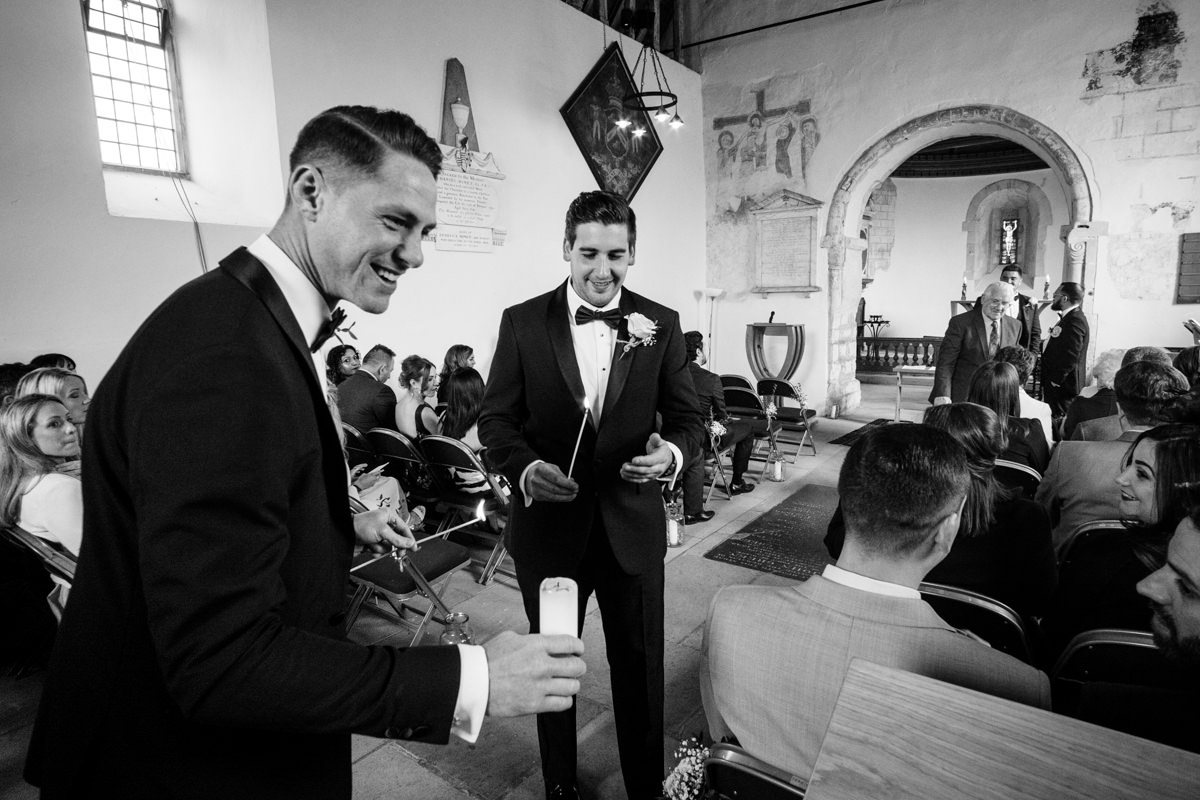 0012 Herfordshire wedding photographer Bengeo st Leonard wedding