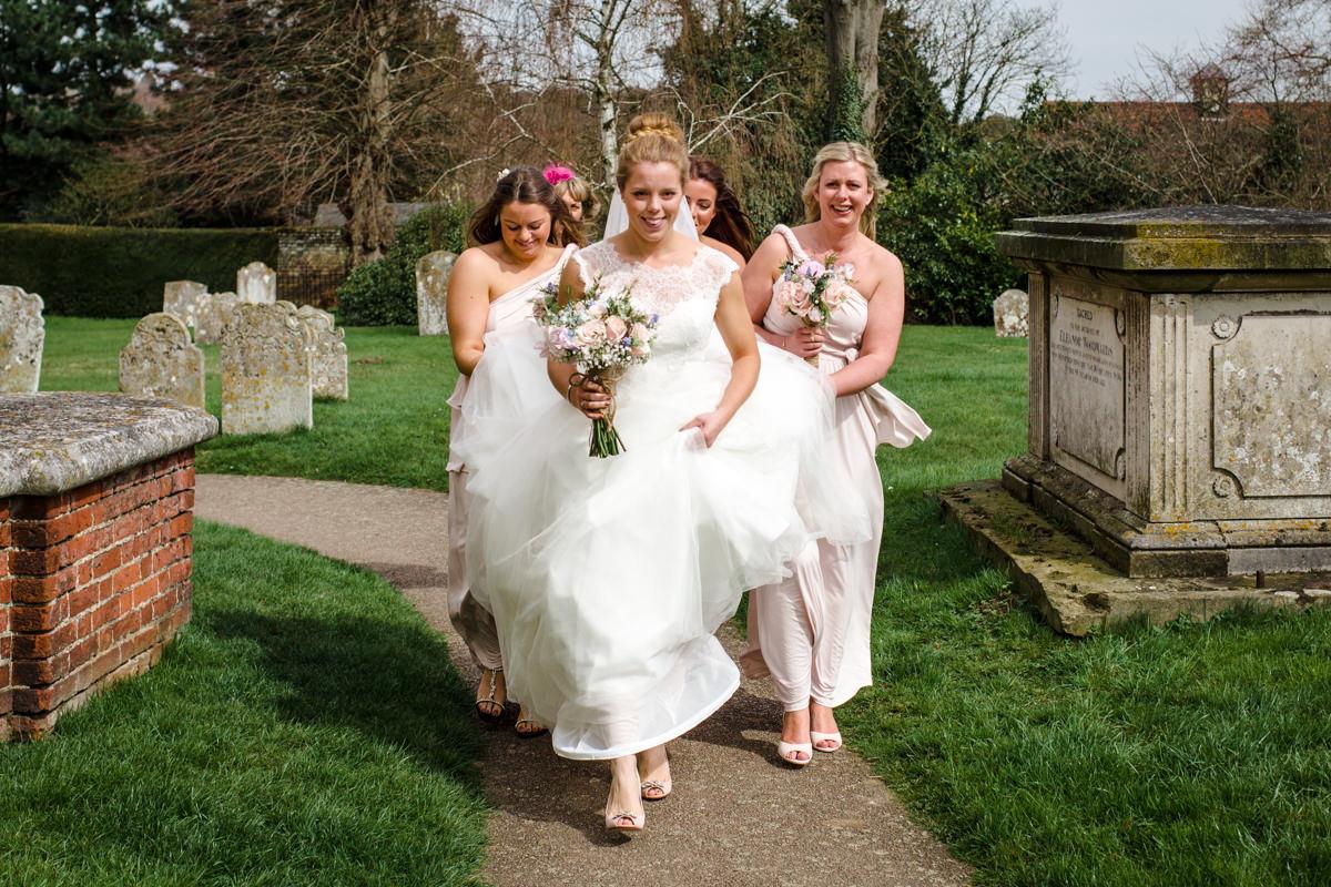 0014 Herfordshire wedding photographer Bengeo st Leonard wedding