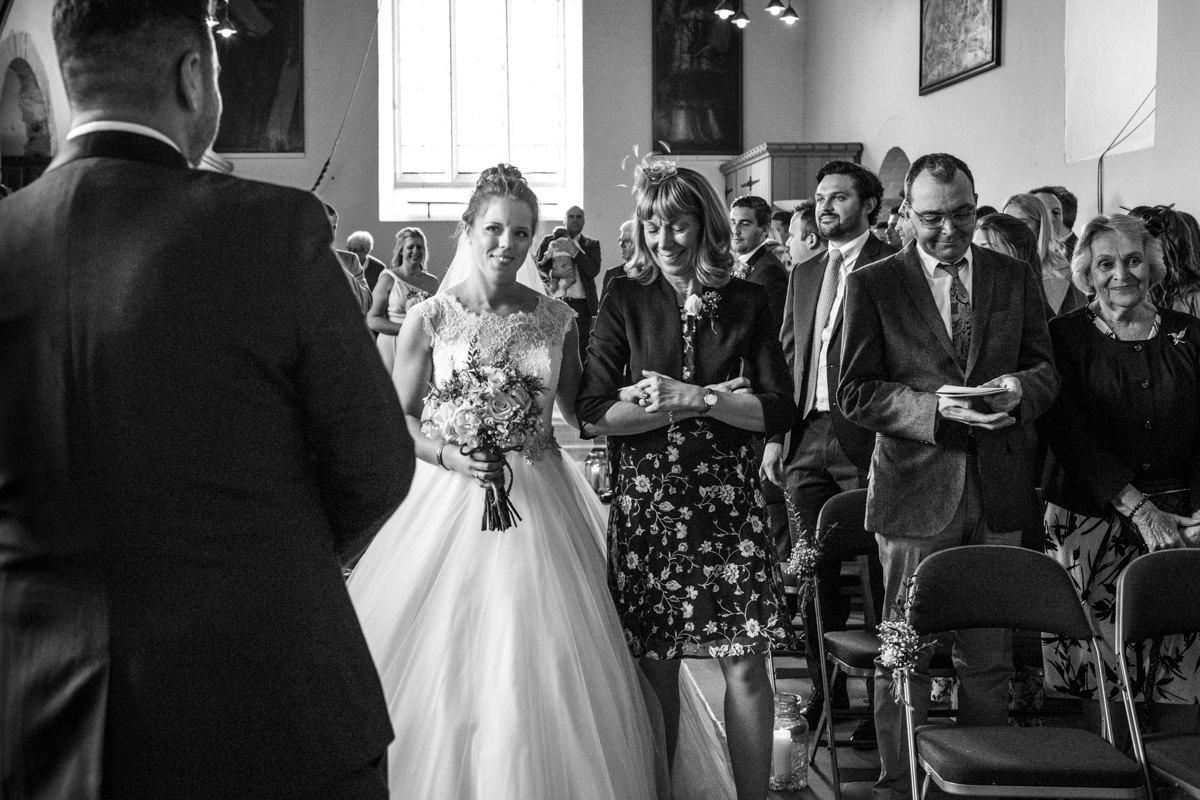 0016 Herfordshire wedding photographer Bengeo st Leonard wedding