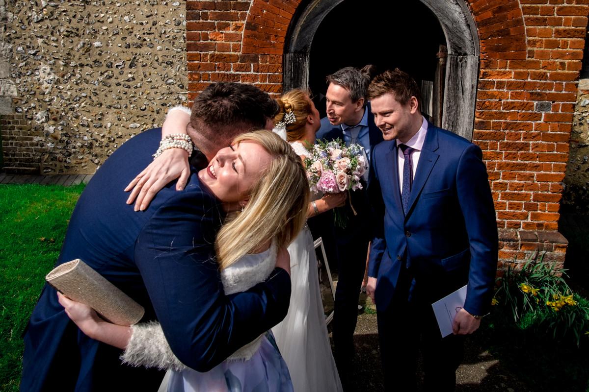 0020 Herfordshire wedding photographer Bengeo st Leonard wedding